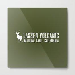 Deer: Lassen Volcanic, California Metal Print