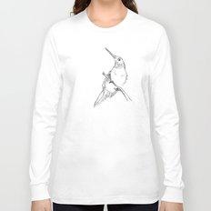 bird sketch Long Sleeve T-shirt