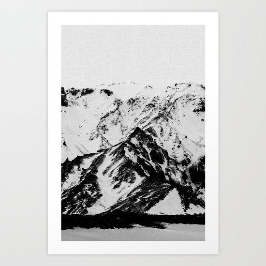Minimalist Mountains by paperpixelprints