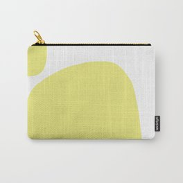 Shape Study #15 - Yellow Arch Carry-All Pouch