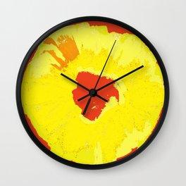 Graphic Pineapple Wall Clock