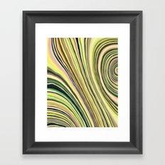Mineralicious~Lemon Agate Framed Art Print