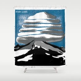Lenticular Clouds. Shower Curtain