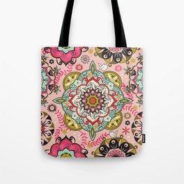 Mandala color pattern Tote Bag