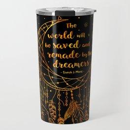 Saved and Remade - gold Travel Mug