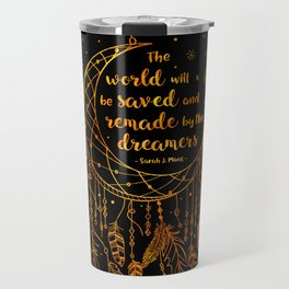Saved and Remade - gold Travel Mug