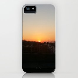 Sunset at Laval X iPhone Case