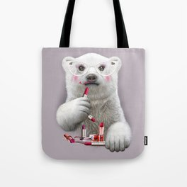 PAULA LIPSTICK Tote Bag