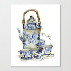 Jasmine tea Canvas Print