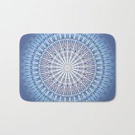 Blue Mandala Bath Mat