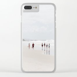 Surfers Paradise III Clear iPhone Case