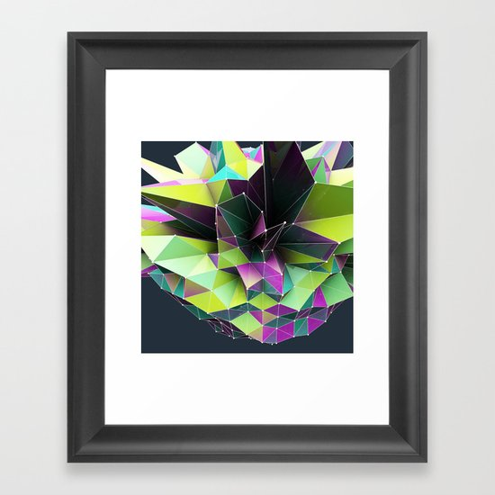 GRAPPH I Framed Art Print