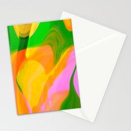 Digital Abstract #3 Stationery Cards