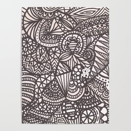 Doodle 10 Poster