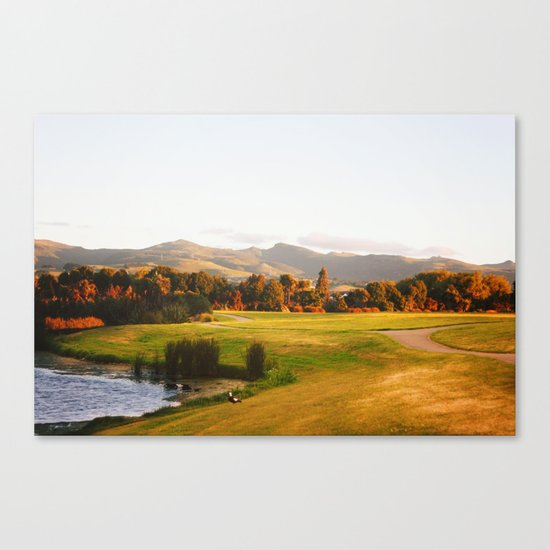 Sunset at 9pm Canvas Print