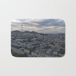 San Francisco - Sutro Tower Chill Bath Mat