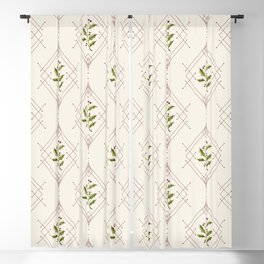 Minimal Holly Jolly #society6 #xmas Blackout Curtain