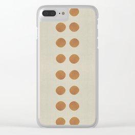 MASAI COPPER PENNIES Clear iPhone Case