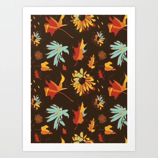 Fall/Autumn Art Print