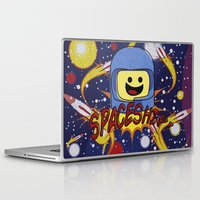 spaceship Laptop & iPad Skins featuring Spaceship!  by Brieana