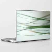 grass Laptop & iPad Skins featuring Grass by Lena Weiss
