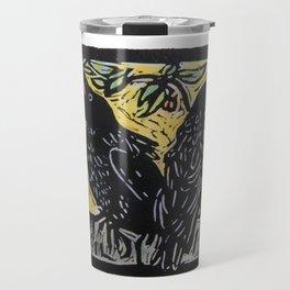 Caw, Caw Travel Mug