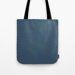 Niagara and Black Polka Dots Tote Bag