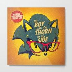 8-bit Smiths   Thorn Metal Print