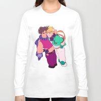 jjba Long Sleeve T-shirts featuring caejose by JohannaTheMad