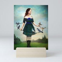 The Garden Game Mini Art Print