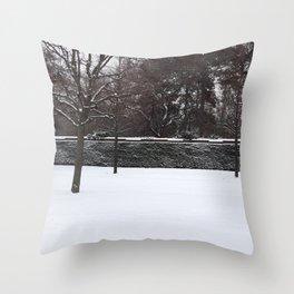 Belvedere garden Throw Pillow