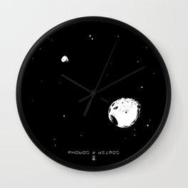 PHOBOS & DEIMOS Wall Clock