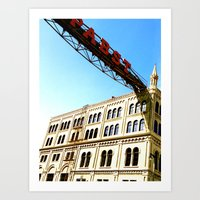 Milwaukee's Historic PABST Blue Ribbon Brewery Art Print