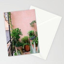Botanical corner of Motovun | Fine art travel photography print Croatia | Pastel tones Stationery Cards