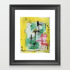 That's how is done Framed Art Print