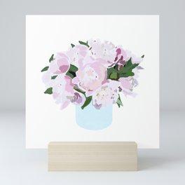 Peonies No. 1 Mini Art Print
