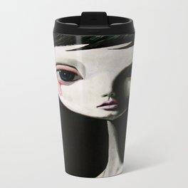 sad blood drop Metal Travel Mug