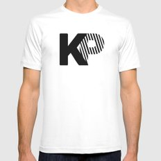 KP Mens Fitted Tee White MEDIUM