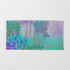 Floral Abstract Hand & Bath Towel