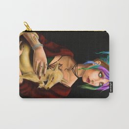 Lady with an Ermine Reimagine Carry-All Pouch