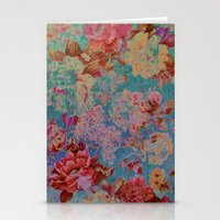 vintage floral Stationery Cards featuring vintage floral by clemm