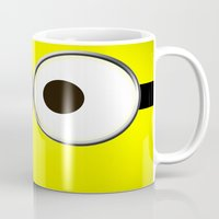 minion Mugs featuring minion by cbrocoff