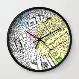 connectors Wall Clock