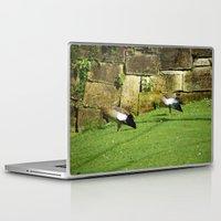 ducks Laptop & iPad Skins featuring ducks by Mathilde Nieuwenhuis