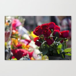 Bouquet of Love Canvas Print