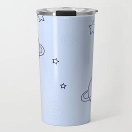 Simple space pattern Travel Mug