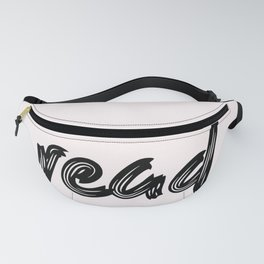 read - handmade caligraphy Fanny Pack