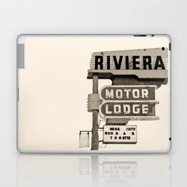 Vintage Neon Sign - Riviera Motor Lodge - Tucson Laptop & iPad Skin