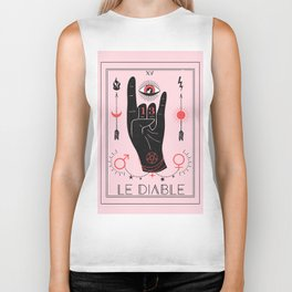 Le Diable or The Devil Tarot Biker Tank