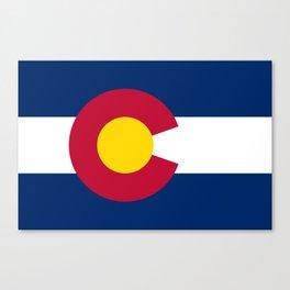Colorado Flag Canvas Print